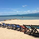 Beach/reception area.