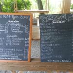 Menu (they have a revised and a even better menu now)