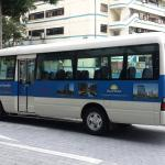 free shuttle service to and from Novena MRT and Orchard Road