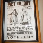 Poster promoting prohibition.