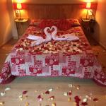 Habitación romántica