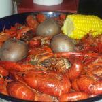Taranto's 3 lb. Crawfish Platter