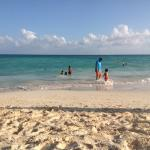The beach in front of Playa Maya
