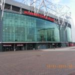front or old trafford