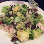 Chicken cranberry Apple candied pecan salad