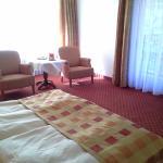 Zimmer mit Balkon zum Tonbach hin