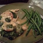 Chicken Florentine with Green Beans