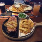 Gammon steak was lush!!