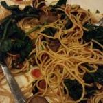 Shrimp pasta I did not finish