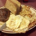 Steak & eggs for breakfast