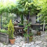 Ourdoor dining area