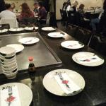 Hibachi Tables