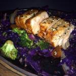 Stir Fry con Salmon