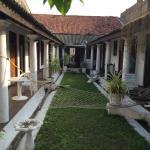 Hotel Courtyard, beautiful garden
