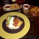 Chimichanga & Cassava Fries