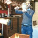 Testi Kebab und der sympathische  Chef