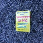 Condom in parking lot outside our room