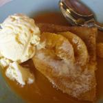 finishing off the 8 courses - Crepe Suzette. YUMMY