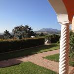 Sicht von Zimmer-Terrasse