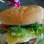 Mighty tasty burger