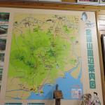 金峰山周辺案内図