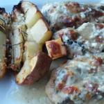 Chicken Florentine with Tuscan Potatoes