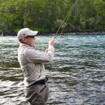 Pêche à Rio Petrohue Chilie avec le guide Jack Trout