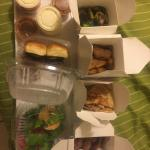 My delicious delivery dinner frim fattys!!!!!