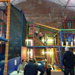 Huge soft play area