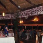 Restaurante com decoração típica