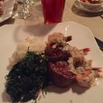 Filet Medallions and Shrimp