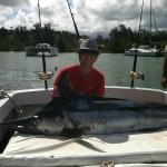 My Son's first Marlin!