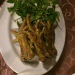Chicken feet, not for the faint hearted