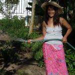 watering our garden
