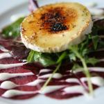 Goats cheese & beetroot salad