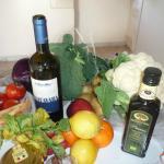 Une cuisine pour préparer les légumes du marché