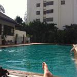 Pool at joy residence
