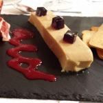 Cena 16-01-2015: Lingote de Foie-Turrón e Ibérico