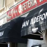 Bienvenidos a Cafetería San Ildefonso