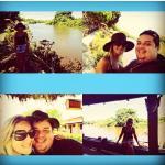 Curtindo calor no hotel em pantanal