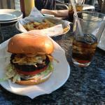 Hambúrguer com Blue Cheese