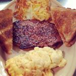 Steak and eggs!