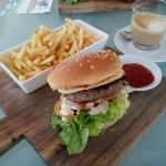 must order! beef burger, love the amount of fries