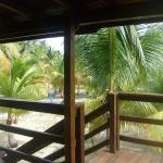 de la terrasse principale du bungalow