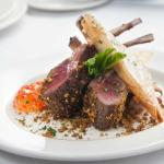 Pistachio Crusted Rack of Colorado Lamb