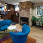 Lobby Fireplace Seating