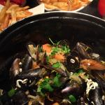 Mussels with pomme frites