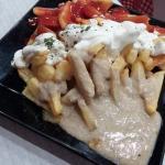 Patatas 3 salsas