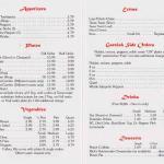 2014 menu