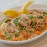 Baked Shrimp Tortellini